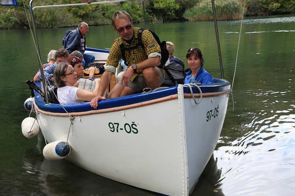 Reise in Kroatien, Bootstour auf der Cetina zurück nach Omis