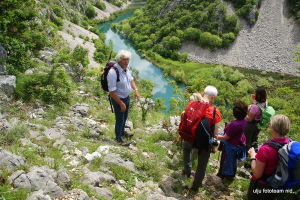 Reise in Kroatien, Wanderung durch das Krupa-Tal