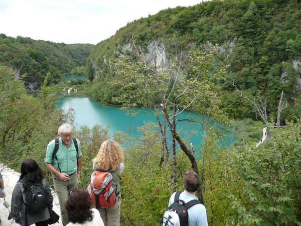 Reise in Kroatien, Wanderung an den Plitvicer Seen