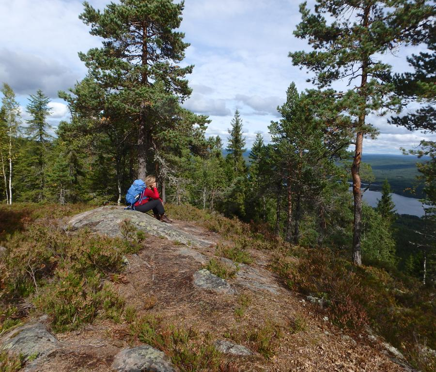 Reise in Schweden, Wanderwoche Gammelbyn
