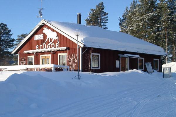 Reise in Schweden, Wintercamp Idre