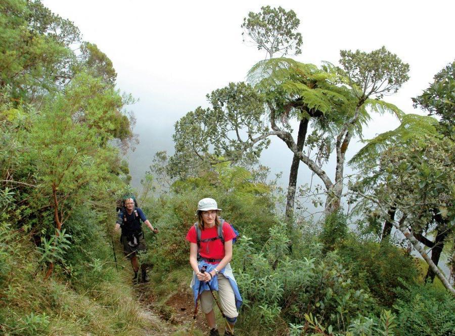 Reise in Madagaskar, Die Aufstiege sind steil