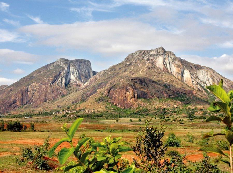Reise in Madagaskar, Isalo Gebirge