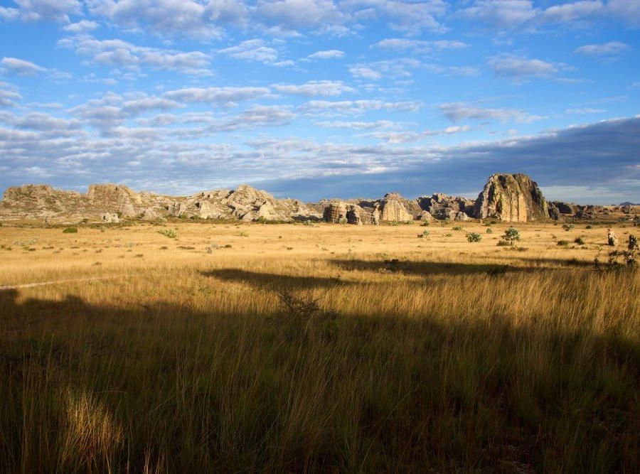 Reise in Madagaskar, Isalo-Gebirge