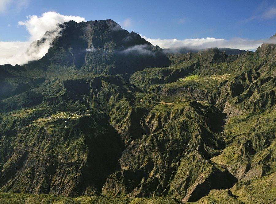 Reise in Madagaskar, Blick Richtung Mafate