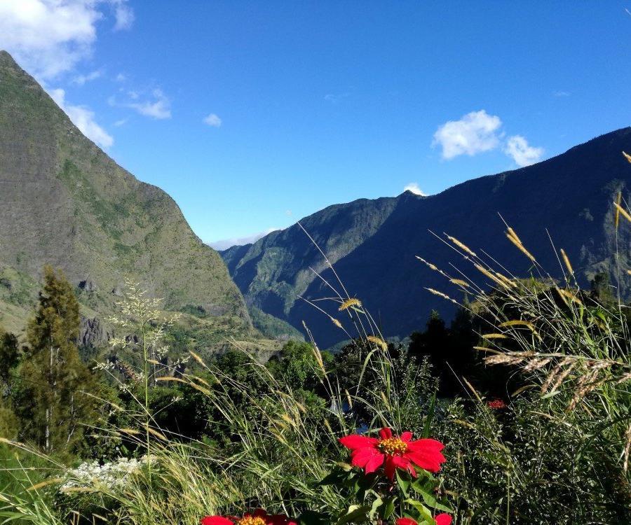 Reise in Madagaskar, Bergszene auf der Route de Cilaos