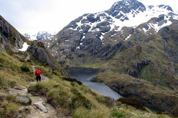 Reise in Neuseeland, Zu Fuß am schönsten Ende der Welt