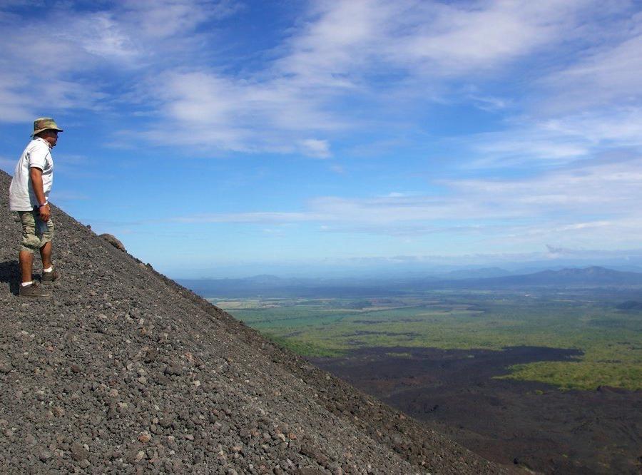 Reise in Nicaragua, Cerro Negro