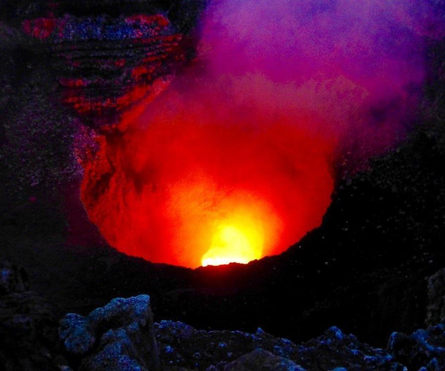Reise in Nicaragua, Vulkan Masaya
